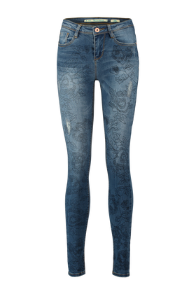Super skinny jeans Yfcloeflower