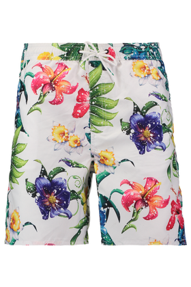 Short de bain Aflower