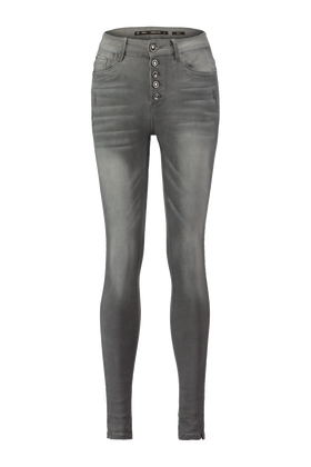 Jeans taille haute Ygwenw18