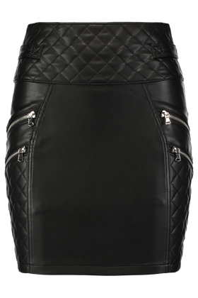 Leather look rok Otorro