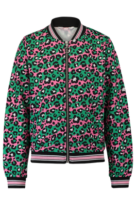 Bomber met all over print