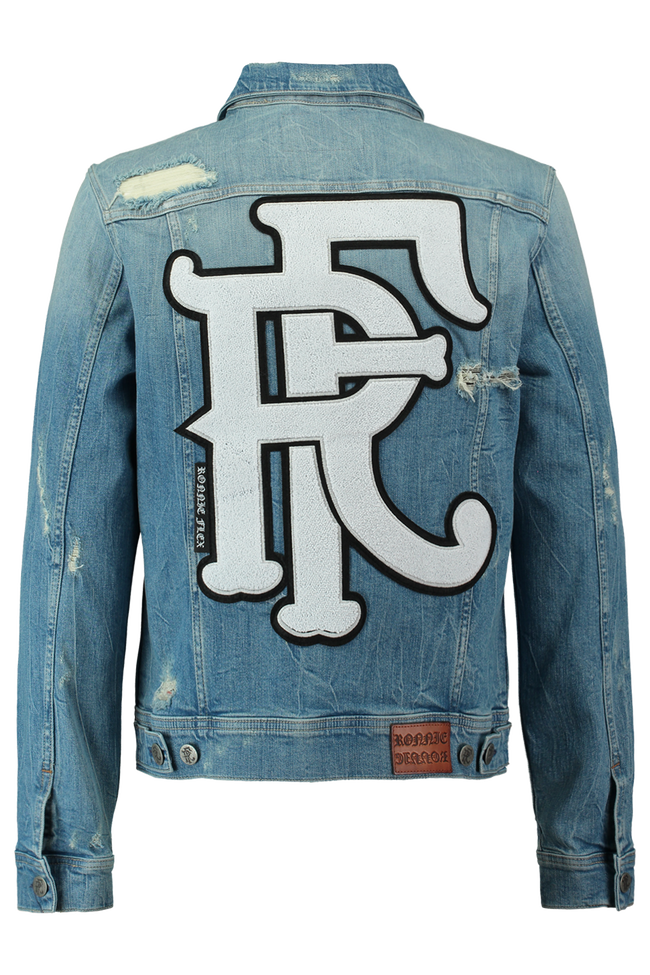 Jronnie Ligne En Veste Officiel Hommes Coolcat® Jean Denim 1z7xwq